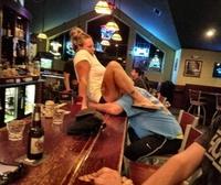 Escalope à même le bar