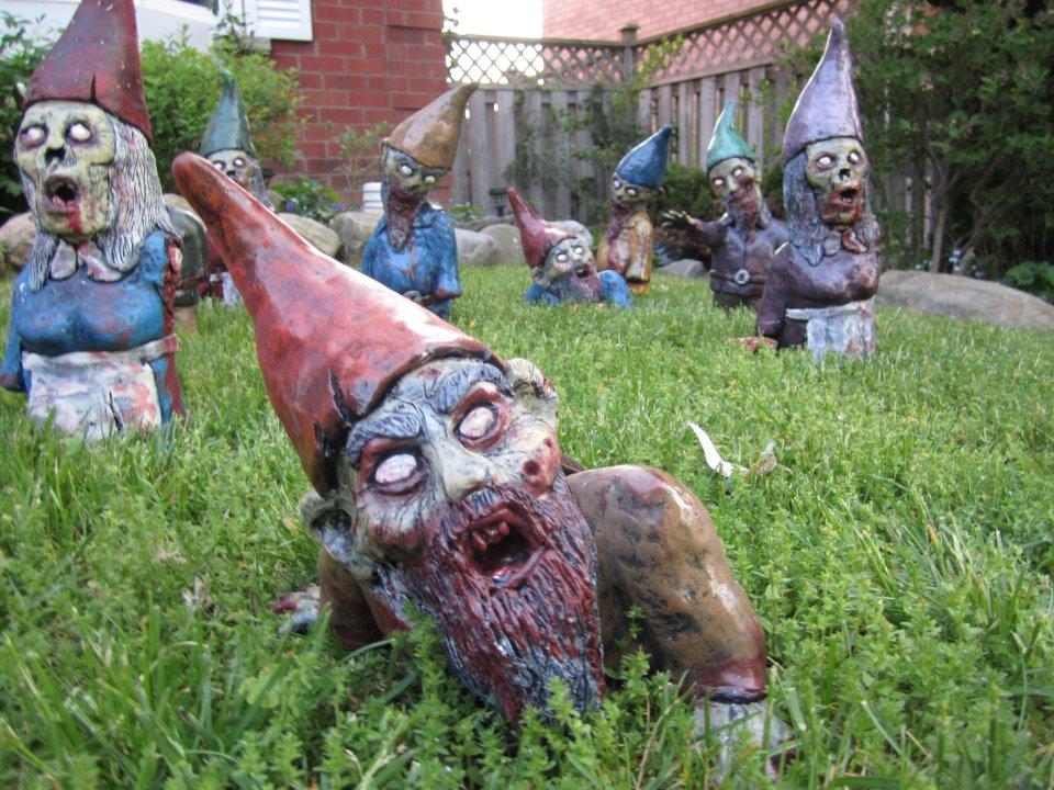 Zombies Nains De Jardin