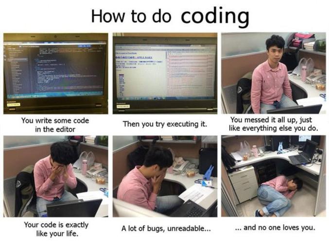 Le code, la vie.