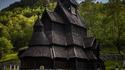 Une petite église en Norvège