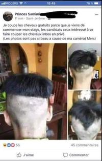 Apprenti coiffeur