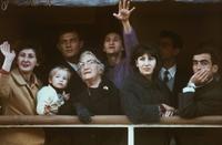 1966 : Migrants arrivant à Sydney (Australie)