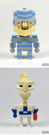 Personnages en Lego 3