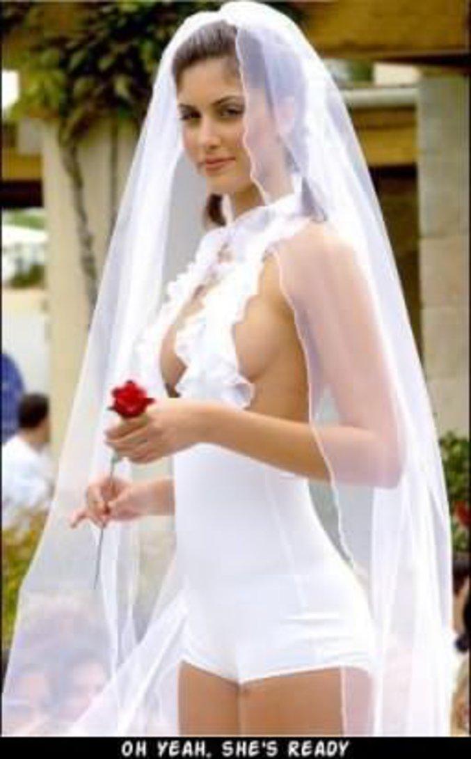 Robes de mariée sexy avec des photos