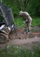 Comment sortir un 4x4 de la boue