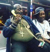 Monsieur Bling-bling dans le métro