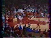 Finale de l'épreuve de Basket des J.O. de Munich de 1972 : URSS - USA