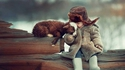 L'enfant et le cabri