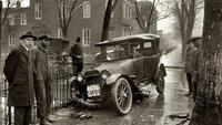 Accident de voiture en 1920, à Washington D.C.