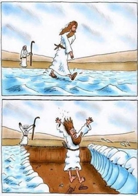 Moise et Jésus