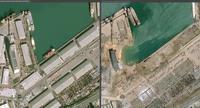 Port de Beyrouth Avant/Après