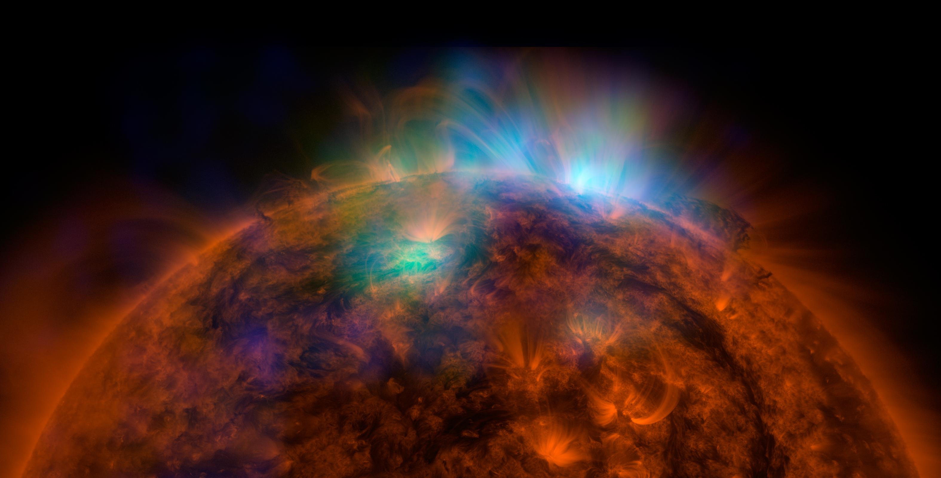 Premi re image du soleil depuis le telescope nustar for Miroir de bragg