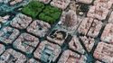 Barcelone vue du ciel