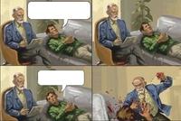 Un patient et son psy