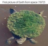 Première image de la Terre depuis l'Espace (1972)