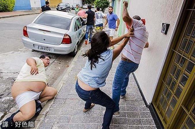 Street fighters du quotidien...