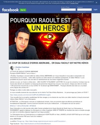 Dr Didier RAOULT est notre héros