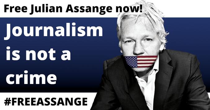 Le fondateur de wikileaks est en danger  On est en train de s'organiser pour alerter un maximum de journalistes, car l'extradition qui arrive bientot est completement passée sous silence par la presse.  Et il risque la mort, c'est snowden qui l'a dit ! Aidez-nous !!! Explications sur https://twitter.com/PierrickGoujon/status/1334299913761513476 L'opération ASILE POUR ASSANGE est en cours