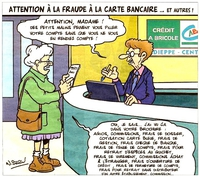 Attention à la fraude bancaire