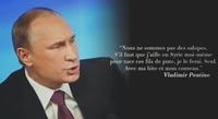 Poutine a dit ça