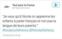 Le français je le parle très mieux que vous
