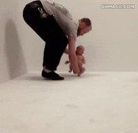 Kan tu veux apprendre à courir à ton fils