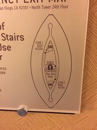 Plan d'hôtel