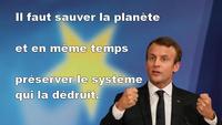 Sauver la planète...