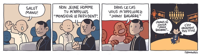 Un strip de Aurélien Fernandez.