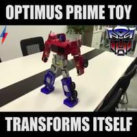 Jouet Optimus Prime des années 80