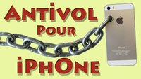 Antivol pour iPhone