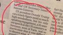 Discours de Trump au cimetière militaire américain de Suresnes