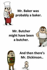 Mister Dickinson i presume? :-D