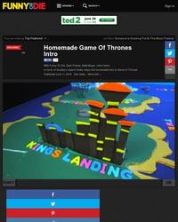 Game of thrones à l'arrache