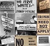 Du temps où l'Amérique affichait le ségrégationnisme