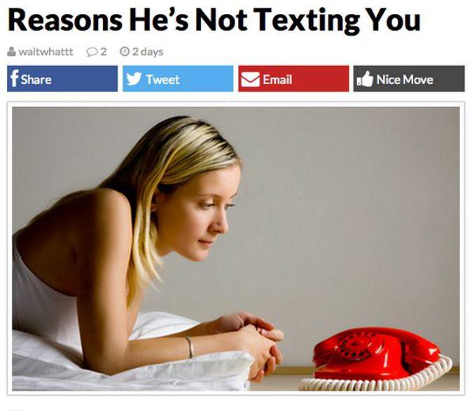 Peut être que le téléphone à cadran n'aide pas