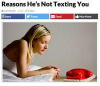 Les raisons pour lesquels il ne vous envoie pas de SMS