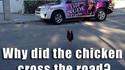 Pourquoi le poulet traverse la rue ?