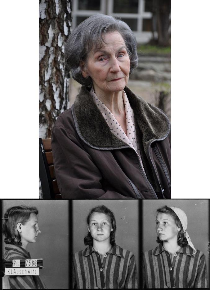 ...a survécu à 2 camps de concentration (dont Auschwitz) et témoigne encore aujourd'hui...