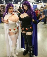 Panaché cosplay-boobsplay