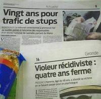 Ah ... la justice française ...