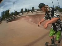 Skate tranchant