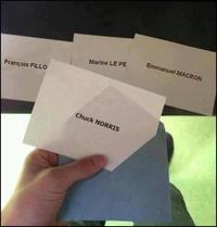 N'oubliez pas de voter aujourd'hui