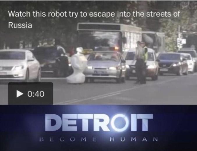 La scène quelque peu surréaliste – du moins pour notre époque – s'est déroulée dans la ville de Perm, aux portes de l'Oural, en Russie.  Un petit robot dénommé Promobot est parvenu à s'échapper du laboratoire dans lequel il était testé et a erré dans la rue, pendant près d'une heure, avant que ses batteries ne s'épuisent. L'engin humanoïde, installé en plein milieu de la route, aurait même bloqué le trafic et provoqué un embouteillage, avant qu'un homme ne le déplace de quelques mètres.