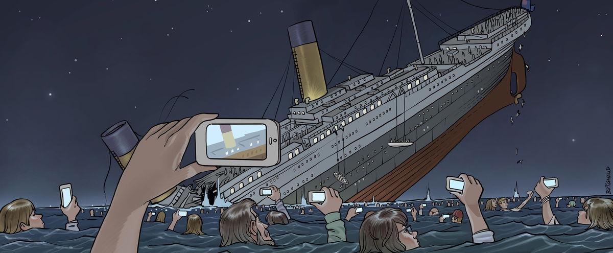 """Résultat de recherche d'images pour """"titanic cartoon"""""""