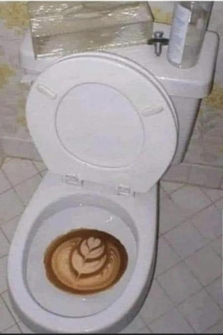Ou abus de café au lait.