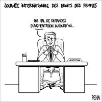 Journée internationale des droits de la femme !