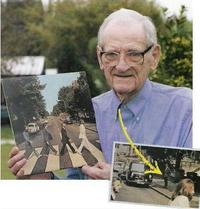 Abbey Road photobomb