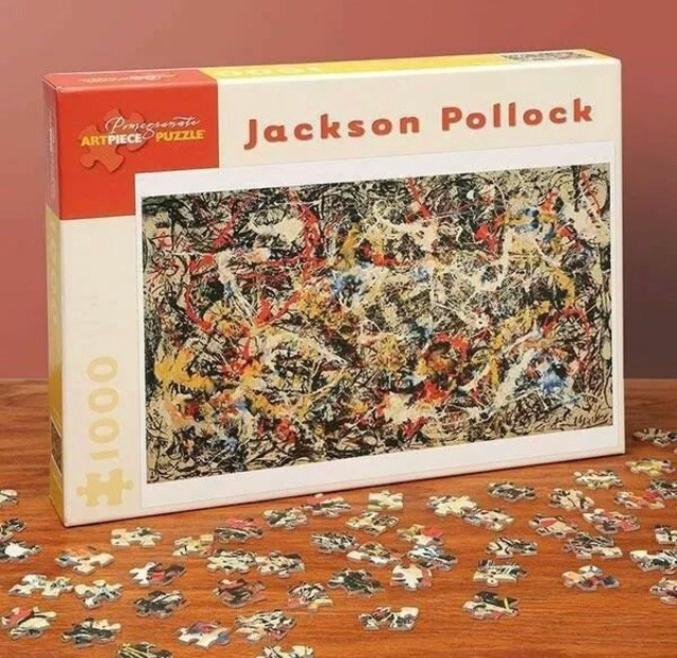 Pollock était un peintre américain.