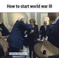 Comment démarrer une 3ème guerre mondiale